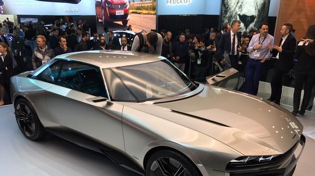 Lavovski zalogaji Peugeota u Parizu zovu se futuristički e-Legend te karavan 508 i to pod egidom elektrike i retro kupea
