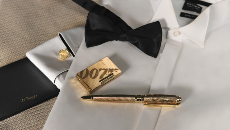 U čast prvog filma o James Bondu Dr. No. iz 1962.  otisnuto po 1962 raritetnih proizzvoda S.T. Dupont
