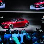 Koncept Kai bio je prošle godine zvijezda Tokya, a punim će sjajem zasjati za koji dan u Los Angelesu pod nazivom Mazda 3 (foto: Mazda press)