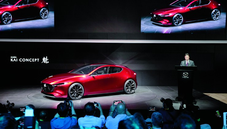 Koncept Kai bio je prošle godine zvijezda Tokya, a punim će sjajem zasjati za koji dan u Los Angelesu pod nazivom Mazda 3