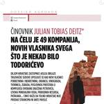 Julian Tobias Deitz, Austrijanac, novi je Ivica Todorić i direktor je 49 istoimenih tvrtki Aisle koje se uknjižuju na Agrokorovo vlasništvo - otkriva novi START (foto: Branimir Klarić)