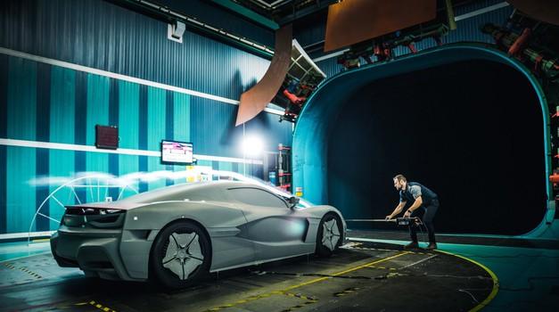 Rimčev Concept C_Two koji juri 412 km/h i do stotke stiže za 1,97 s testiran u zračnom tunelu Fiat Chryslera