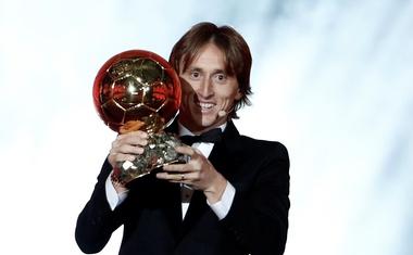 Kao dijete sanjao sam trofeje, no ovo danas nadmašilo je sve moje snove, kazao je Luka Modrić, osvajač Zlatne lopte