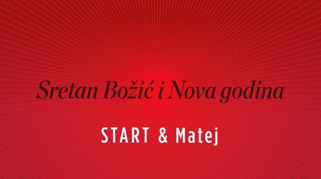 Blagoslovljen Božić i sretnu novu 2019. uz Zvončići, zvončići... želi Vam START u izvedbi maestra Mateja Meštrovića