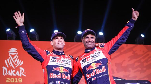 Boris Garafulić, čileanski Hrvat nakon prve etape Dakra na 16. mjestu, Šakin 61., a Tomislav Glavinić odustao