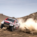 309 TEN BRINKE Bernhard (nld); PANSERI Xavier (fra); Toyota; Toyota Gazoo Racing; Group T1; Class 1; Auto; action during the Dakar 2019; Stage 3; San Juan de Marcona - Arequipa; peru; on january 9 - Photo Antonin Vincent / DPPI (foto: 309 TEN BRINKE Bernhard (nld); PANSERI Xavier (fra); Toyota; Toyota Gazoo Racing; Group T1; Class 1; Auto; action during the Dakar 2019; Stage 3; San Juan de Marcona - Arequipa; peru; on january 9 - P)