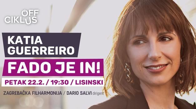 Ambasadorica fada Katia Guerreiro uskoro nastupa u Zagrebu