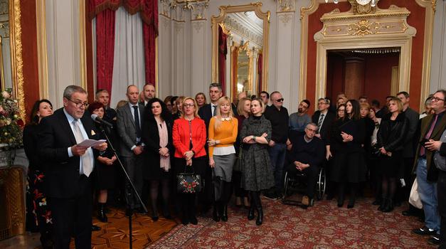 Gradonačelnik održao tradicionalni novogodišnji prijem za novinare