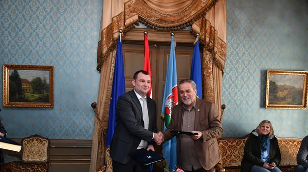 Zagreb i Daruvar potpisali Povelju o suradnji i prijateljstvu