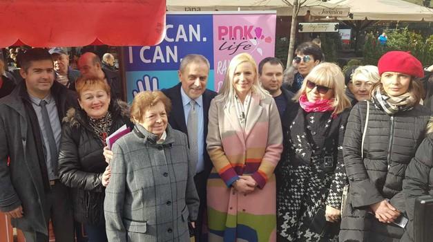 Svjetski dan borbe protiv raka obilježen na Cvjetnom trgu