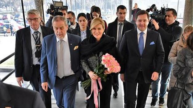 Predsjednica Kolinda Grabar-Kitarović posjetila Gradsku upravu