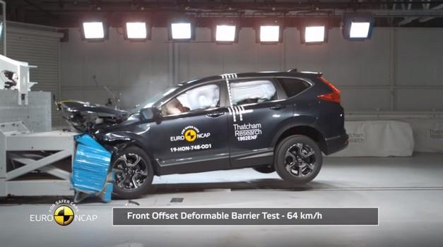 Honda CR-V, Mercedes-Benz G-klase i Seat Tarraco uvjerljivo osvojili pet Euro NCAP zvjezdica