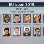 Britanska tvrtka u vlasništvu Hrvata s Oxforda, Princetona i FER-a tvrdi; HDZ će potući protivnike do nogu i osvojiti 50 % EU mandata (foto: n1 screenshot)