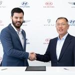 VIDEO: Kakav samo posao Mate Rimca i Hrvatske - u sljedećih 6 godina Hyundai i KIA zgotovit će, uz pomoć Hrvata, 18 posve novih modela koje će pokretati struja, a hit su Le Fil Rouge i N modeli (foto: Rimac automobili)