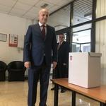 Mislav Kolakušić, glasovao je u Nehajskoj ulici na zagrebačkoj Trešnjevci (foto: Igor Stažić)