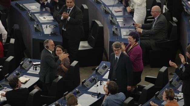 Umjereni Talijan, David-Maria Sassoli, koji zagovara ujedinjenu, snažnu i ravnopravnu Europu zamijenio Talijana koji svojata Istru i Dalmaciju