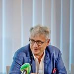 Dražen Domjanić na press konferenciji o ovogodišnjem festivalu u Lunu, na otoku Pagu (foto: Start press)