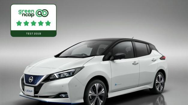 Nissan Leaf nagrađen s pet zvjezdica na Green NCAP testu