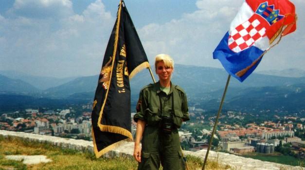 Ena Šimek Šuplika prije 24 godina bila je jedina žena koja je sa 7. gbr oslobodila Knin