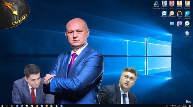 Škoro je njihov zajednički kandidat! HDZ/SDP su isto, surađuju kod kuće i u Bruxellesu! Biraju iste kandidate tu i tamo!