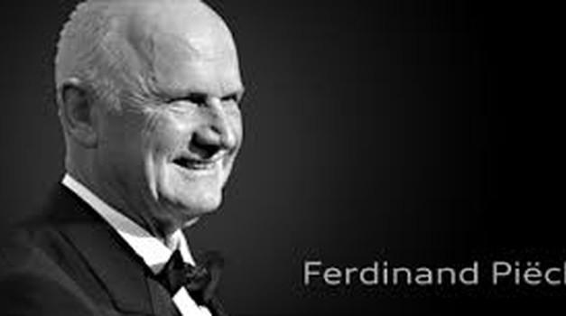 Ferdinand Piech, legendarni čelnik VW i unuk Ferdinanda Porschea zauvijek nas napustio. Vratio je dedinu legendarnu Bubu u život, kupio Lamborghini, Bugatti i Bentley, nasljednicima ostavio milijarde