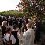 Pompozno su Europski vitezovi na Korčuli proglasili Europsku berbu grožđa, a u slavu Boga i vina imenovali i vitezove na misi u Katedrali svetog Marka (foto: Romeo Ibrišević)