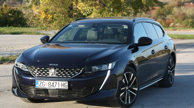 TEST: Peugeot 508 SW GT Blue HDi 180 EAT8