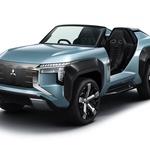 """Mitsubishi """"razvaljuje u Tokiju s koncepnim buggyjem koji juri na struju i koji ne poznaje prepreke (foto: mitsubishi press)"""
