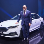 ŠKODA CEO Bernhard Maier presenting the new ŠKODA OCTAVIA on Monday, 11 November 2019 at the Prague Trade Fair Palace. (foto: Škoda press)