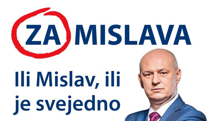 """""""Ili Mislav, ili je svejedno"""" - EKSKLUZIVNO otkrivamo slogan Dark Horsea predsjedničke kampanje s kojim se distancira od """"Predsjednik s karakterom"""", """"Predsjednica. Jer Hrvatska zna"""" i """"Sad il' nikad!"""""""
