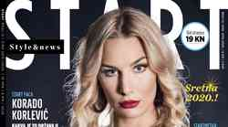 Korado Korlević, glavni je junak i Start faca novog broja ultimativnog magazina koji nudi ultimativan sadržaj i savršen tisak