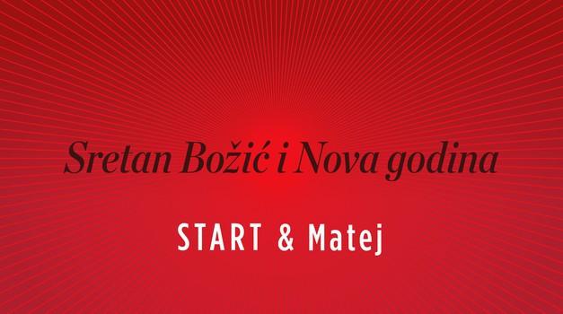 Blagoslovljen Božić i sretnu novu 2020. uz Zvončići, zvončići... želi Vam START u izvedbi maestra Mateja Meštrovića