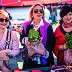Ana Vaništa, Julijana Matanović, Trešnjevački plac, fino i friško (foto: Bojan Haron Markičević/Start)