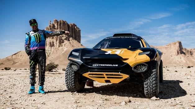 Video: Kako se Ken Block prvi put suočio s Dakarom - u električnom automobilu