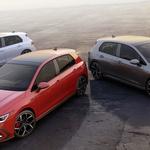 Maske su pale i to sve 3 odjednom - napokon poznata sva tri rasna Golfa  8- GTI na benzin, plug in GTE i GTD - od 200 do 245 konja, a još se čeka R i od 300 KS (foto: VW press)