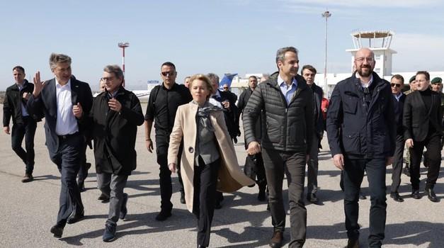 Andrej Plenković u prvom redu europskih moćnika koji su odlučili i sami stati na granicu Grčke i Turske i zaustaviti sultana Recepa Tayyipa Erdogana
