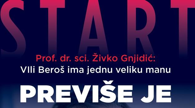Nikad ispričana priča o Vili Berošu, do jučer anonimnom kirurgu koji je preko noći postao ono što je Ante Gotovina bio u Domovinskom ratu - sve u novom Startu