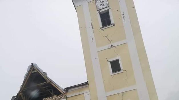 Markuševac i Čučerje se u 11.12 h zatresli s 3,7 stupnjeva po Richteru, po Seizološkoj službi RH potres je bio 3,3 stupnja, teško oštećena crkva od jučer
