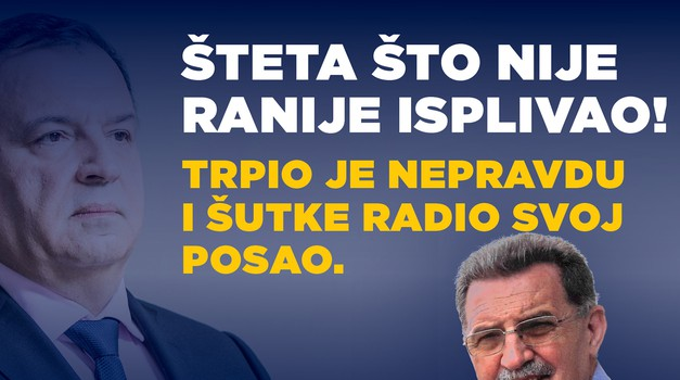 - On je general u ratu protiv korone i panike, on je danas isto ono što je bio general Ante Gotovina u Domovinskom ratu, otkriva Vilijev mentor prof. dr. sci. Živko Gnjidić