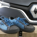 Njegov posao je dizajniranje Renaultovih modela, a njegov su fetiš tenisice. Za svaki novi auto osmislio je i pripadajuću obuću. On je Laurens van den Acker (foto: renault)