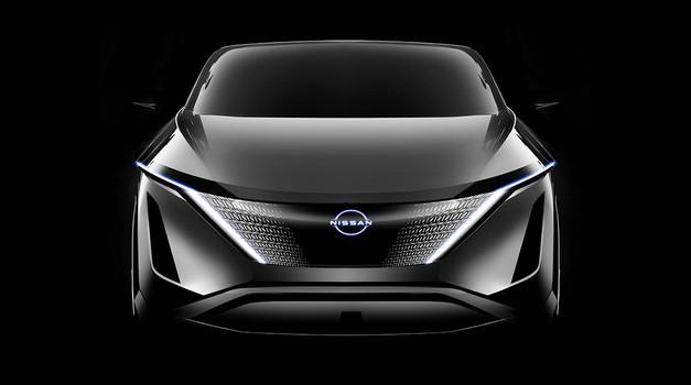 """Nadahnut viteškim oklopom, Nissan je masku novog modela preuzeo iz japanske povijesti, """"štit"""" za svoje buduće modele, prije svega one električne"""
