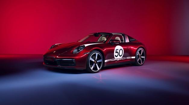 Počast tradiciji iz Porschea: predstavljamo 911 Targa 4S Heritage Design Edition