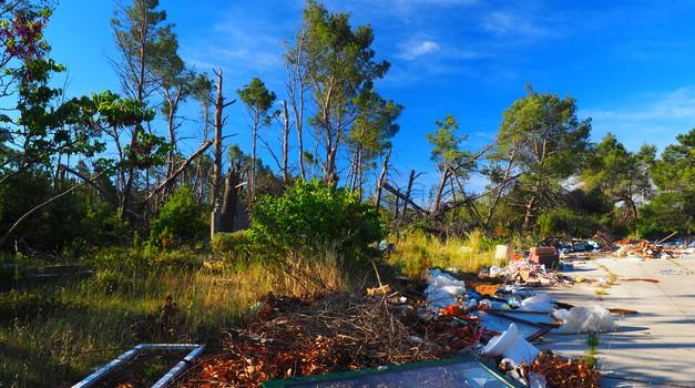 """DUDI samo """"dudi"""" i ne brine o našoj imovini, Šepurine pored Zadra su velika sramota za Svjetski dan zaštite okoliša i samo jedan od eklatantnih primjera bezobrazne nebrige"""