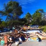 """DUDI samo """"dudi"""" i ne brine o našoj imovini, Šepurine pored Zadra su velika sramota za Svjetski dan zaštite okoliša i samo jedan od eklatantnih primjera bezobrazne nebrige (foto: Romeo Ibrišević)"""