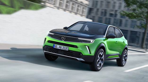 """SVJETSKA PREMIJERA Opel Mokka prva je """"Munja"""" koja stiže s posve novom maskom kakve će ubuduće krasiti sve modele iz Russelsheima, nasađana je na platformu PSA koju koristi i Corsa i ide na STRUJU"""