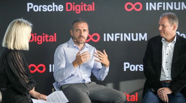 Porsche već ima 15,5 % dionica kod Mate Rimca, a danas su uložili novih 10 milijuna eura u Tomislava Cara i HR tvrtku Infinum s kojom pokreću Porsche Digital Croatia