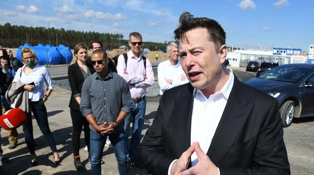 """Kakav samo šok za dioničare Elona Muska, vrijednost TESLE pala u dva sata 12,5 % ili za 42,5 milijardi eura. Ulagači nezadovoljni Muskovim """"Danom baterije"""""""