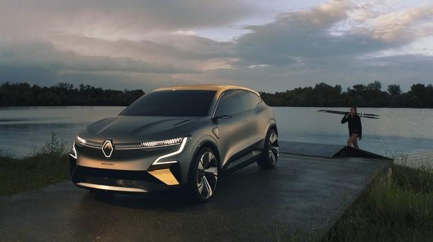 Ama baš svi Renaulti za dvije godine bit će na struju, Renault Megane  eVision prvi je francuski električar iz više klase