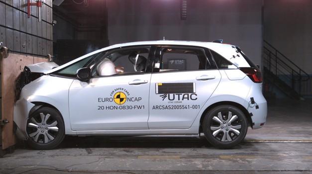 VIDEO: Definitivno, Honda Jazz e je najmanji auto s najvećom mogućom sigurnošću - 5 Euro NCAP zvjezdica