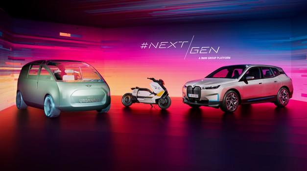 """VIDEO: Epska preobrazba BMW-a koji će već 2021. proizvesti milijun elektroauta, koji piše budućnost s """"gamerima"""", 5G mrežom. BMW iNEXT, BMW Motorrad i MINI prvi na redu"""